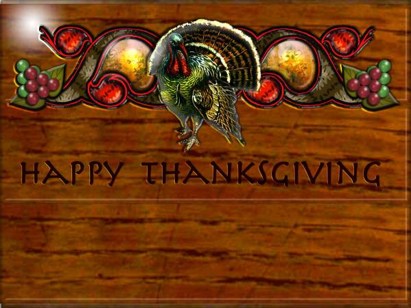 Desktop Wallpaper - 1600x1200 - Thanksgiving #2