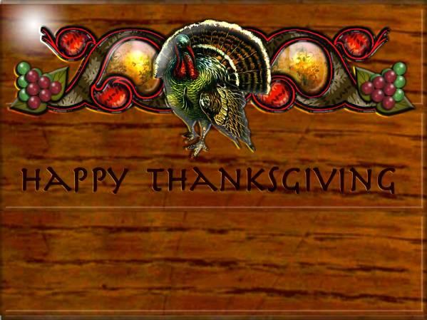 Desktop Wallpaper - 1600x1200 - Thanksgiving #2