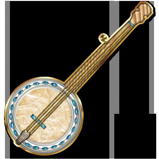 Banjo Clipart - 189.6KB