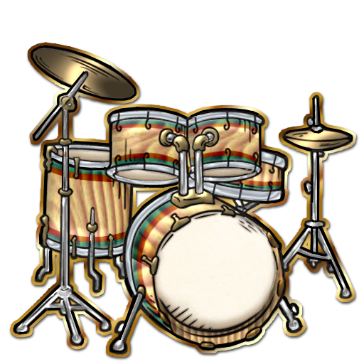 Drum Set Clipart Bongo drum
