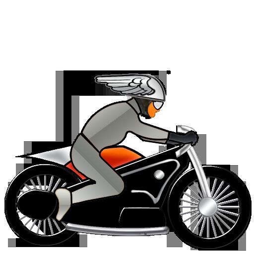 Nuevo Deco - Motorcycle Delivery - 512x512 - png