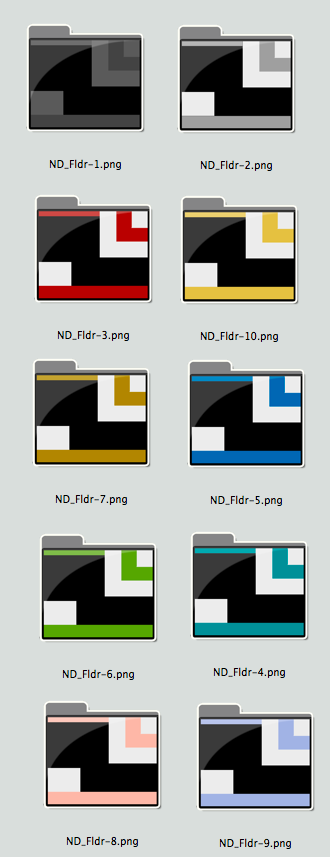 Reduced Preview of Nuevo Deco Generic Folders