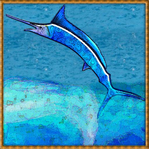 Marlin-At-Sea