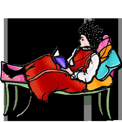 Reclining-Reader
