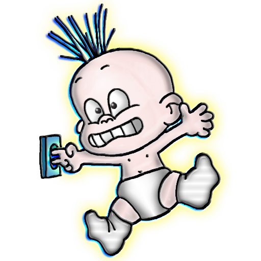 """Yikes"" Fun image by Leslie Sigal Javorek at IconDoIt, the blog!"