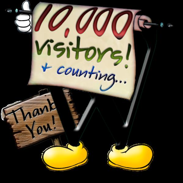 10,000 Visitors