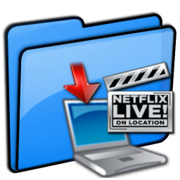 NetFlix Downloads Folder