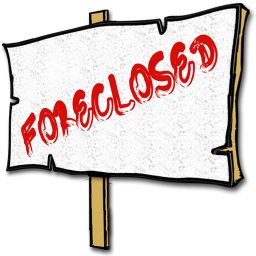 Foreclosed Sign