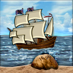 Mayflower Landing at Plymouth Rock (2)