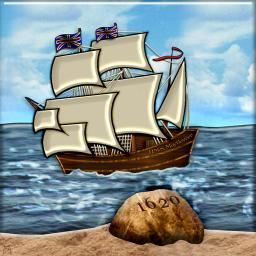 Mayflower Landing at Plymouth Rock (2)