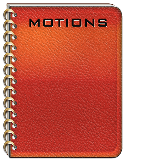 Pigskin Journal for Legal Motions