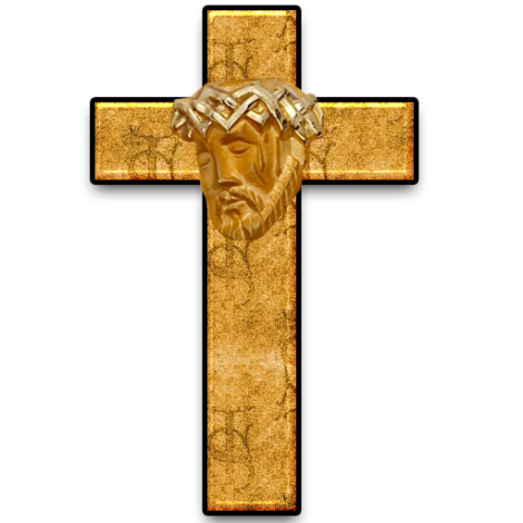 Cross & Jesus Relief